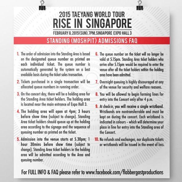 Taeyang SG FAQs