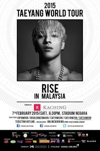 [M'SIA] 2015 Taeyang World Tour [RISE] inMalaysia