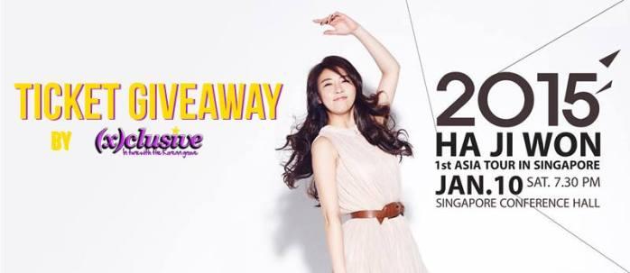 hajiwon sgxclusive giveaway