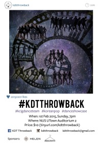 NUS' Korean Cultural Interest Group Dance Team presents #KDTthrowback