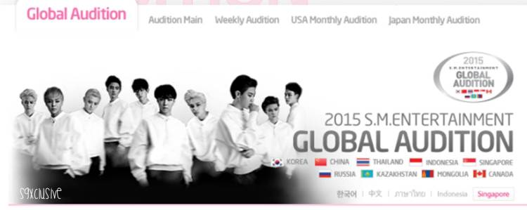 2015 SM Entertainment Global Auditions in Singapore sgXCLUSIVE