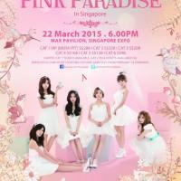 A-Pink Pink Paradise inSingapore
