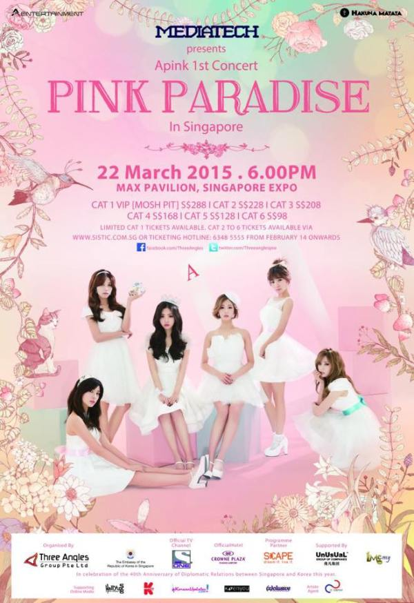 apink pink paradise in singapore sgXCLUSIVE