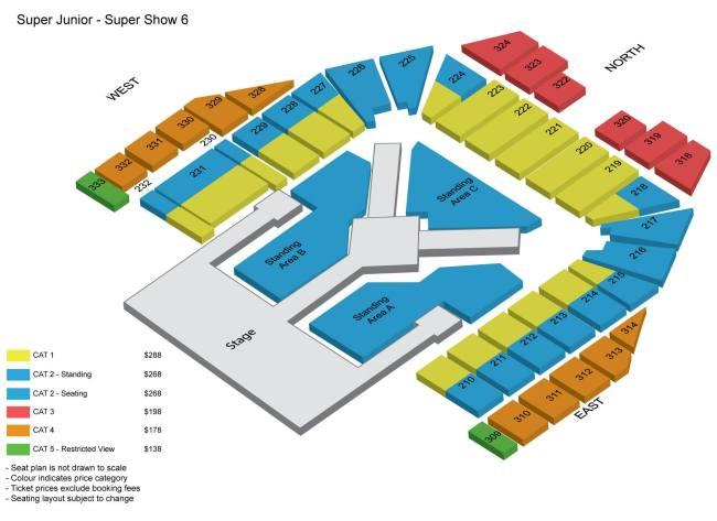 Super Show 6 in SG
