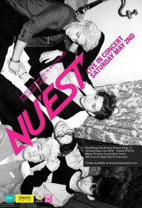 [CANADA] NU'EST To Fulfill Fans' Dream At Toronto K-Pop Con 2015